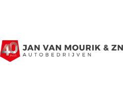 Raambelettering - Jan van Mourik Logo