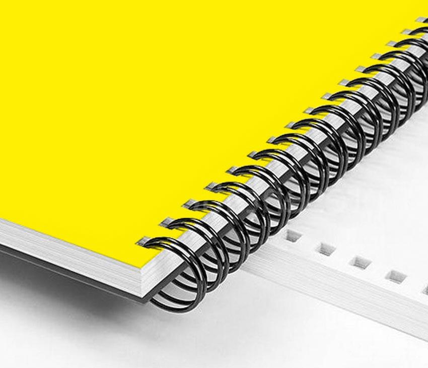 Wire o wire boekje drukken - Drukkerij Kemker